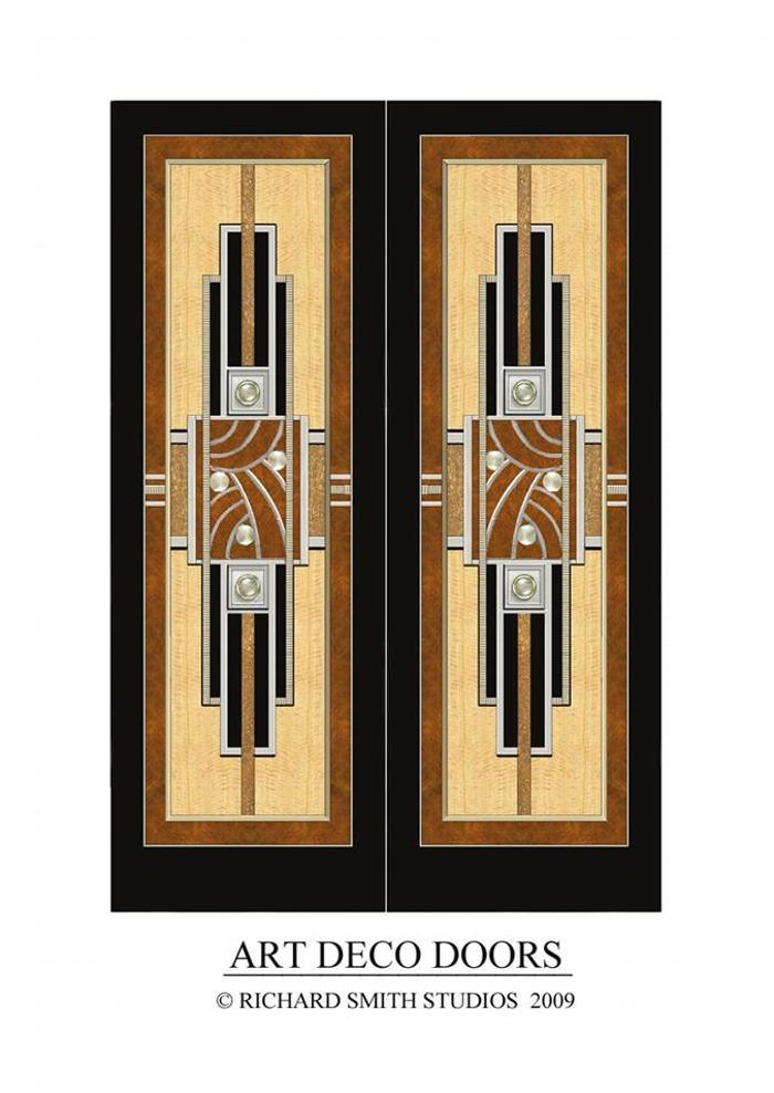 Richard smith studios for Door design art
